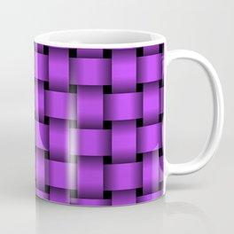 Light Violet Weave Coffee Mug