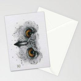 Owl Eyes Stationery Cards