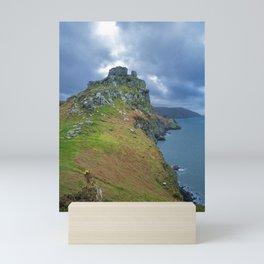 CASTLE ROCK VALLEY OF THE ROCKS EXMOOR DEVON Mini Art Print