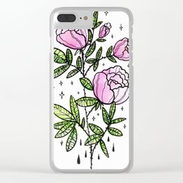 blooming magic Clear iPhone Case