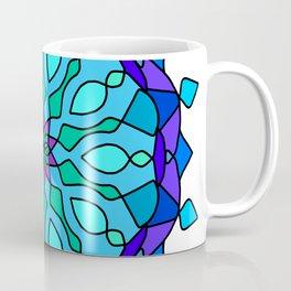 Colored round Arabic mandala Coffee Mug
