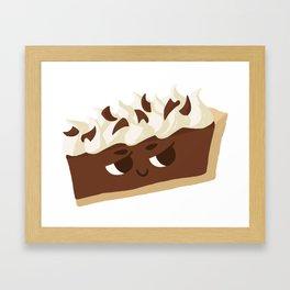 Baby Cakes - French Silk Pie Framed Art Print