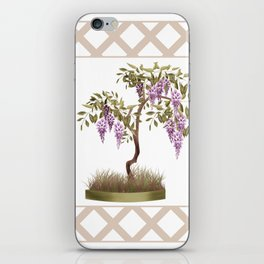 Wisteria . Tree 2 iPhone Skin