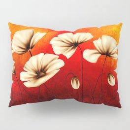 Flower vintage illustration art Pillow Sham
