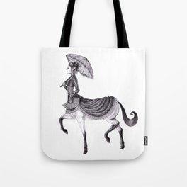 Victorian Centaur Tote Bag