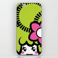 pagan iPhone & iPod Skins featuring Pagan Lime by Pagan Holladay