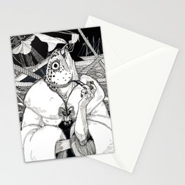 The Cryptids - Mermaid Stationery Cards