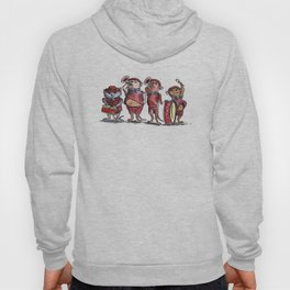 Scout Mice Playing Music Hoody