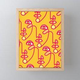 Multi Faced Pink Lemonade Framed Mini Art Print