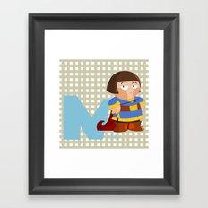 n for noble Framed Art Print