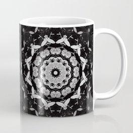 Dark Moth Mandala Coffee Mug