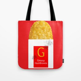 Greasy HashBrowns Tote Bag