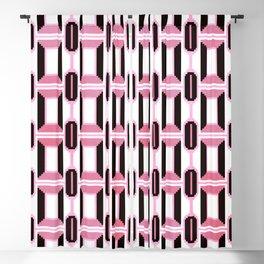 Paris 1971 - Mid Century Geometric Fashion Blackout Curtain