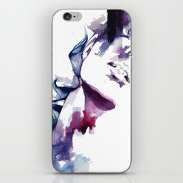But we're just two strangers, drowning each other iPhone Skin
