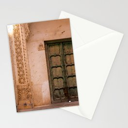Millenial Pink Antique Door in India Stationery Cards