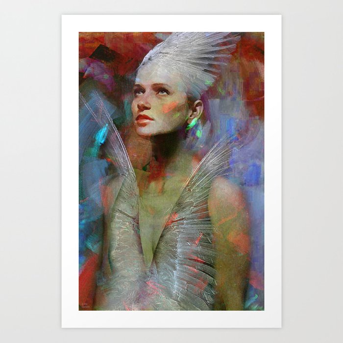 Guard of souls Art Print