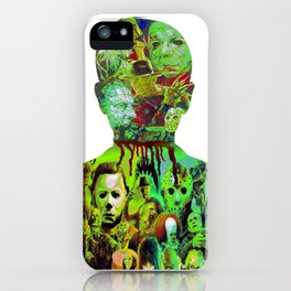 Have Alittle Horror In You? iPhone Case