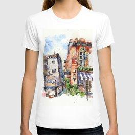 Sunset at Club Street T-shirt