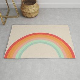 Vintage Rainbow Rug
