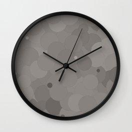 Paloma Bubble Dot Color Accent  Wall Clock
