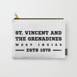 St Vincent and the Grenadines West Indies Carry-All Pouch