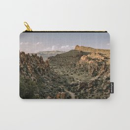 Balanced Rock Valley View in Big Bend - Landscape Photography Carry-All Pouch