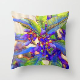 Aspects were suddenly more like their own spectres Throw Pillow