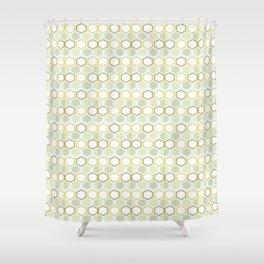 Pattern rhombus losange Shower Curtain