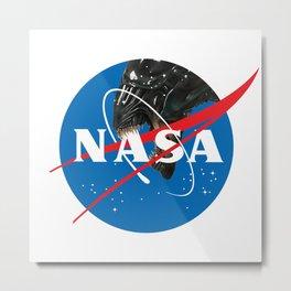 Alien NASA Metal Print