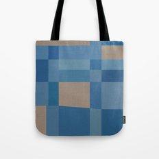 Palm Springs Blue Tote Bag