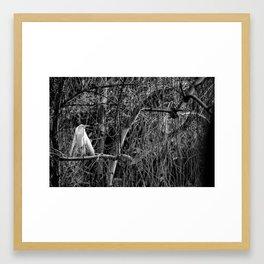 Bird in a Tree... Framed Art Print