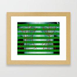 Figure 57 (Diagram Series) Framed Art Print