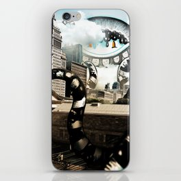 The Chicago Sky iPhone Skin