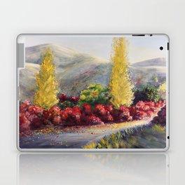 L allée des cotinus Laptop & iPad Skin