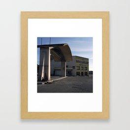 N-II, Cervera. 2012 Framed Art Print