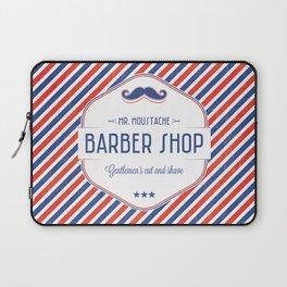 Mr. Moustache Barber Shop Laptop Sleeve