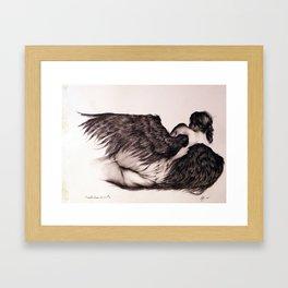 Angels Never Know #3 Framed Art Print