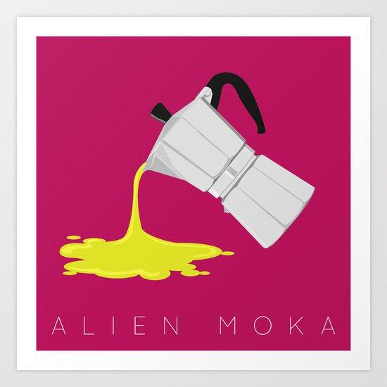 Alien Moka Art Print