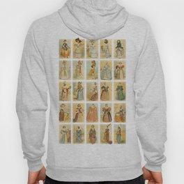 Vintage Paris Fashion Collage Hoody