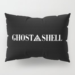 Ghost In The Shell Title (White) Pillow Sham