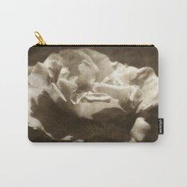 Rosas Moradas 5 Antiqued Carry-All Pouch