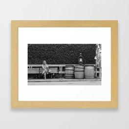 My Grandma Framed Art Print