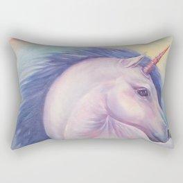 Purple Unicorn Dream Rectangular Pillow