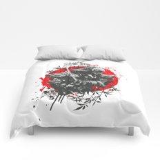 Black Samurai Comforters