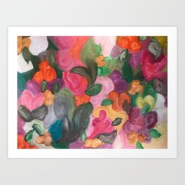 Flower World Art Print