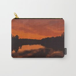 Nopiming Provincial Park Poster Carry-All Pouch