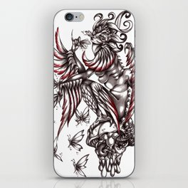 Butterfly's diet iPhone Skin