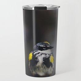 Yellow-Rumped Warbler Travel Mug