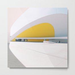 Centro Niemeyer Metal Print