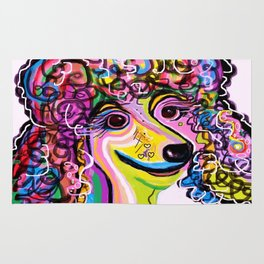 Picture Perfect Poodle Rug